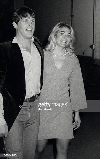 Nick Nolte and Sharyn Haddad during Cannery Row Wrap Party at MGM Studios in Culver City California United States
