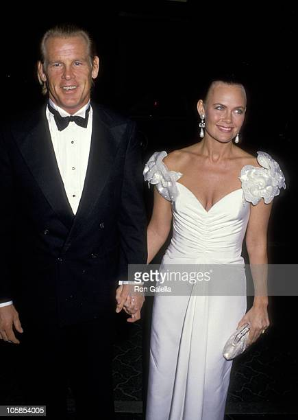 Nick Nolte and Wife Rebecca Linger during 16th Annual AFI Lifetime Achievement Award Salute to Jack Lemmon at Beverly Hilton Hotel in Beverly Hills...