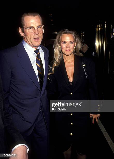 Nick Nolte and Wife Rebecca Linger during 56th Annual New York Film Critics Circle Awards at Rainbow Room in New York City New York United States
