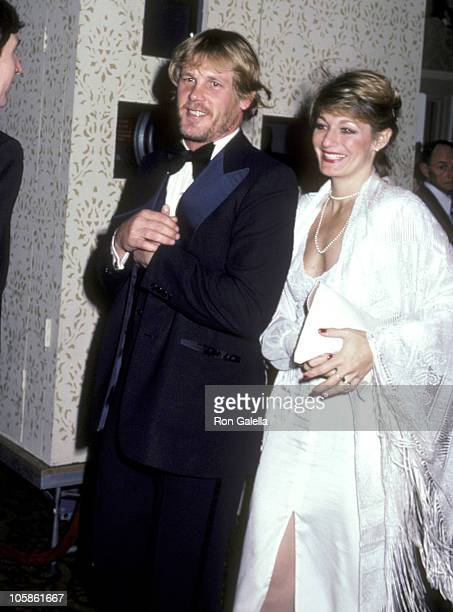 Nick Nolte and Wife Sharyn Haddad during AFI Salute to James Stewart at The Beverly Hilton Hotel in Beverly hills California United States