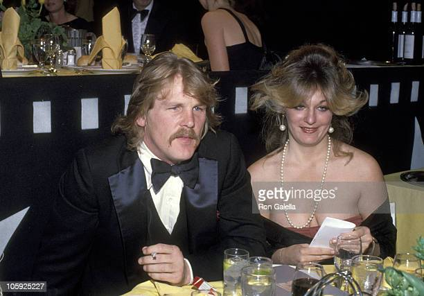 Nick Nolte and Wife Sharyn Haddad during American Film Institute Salute to Henry Fonda 1978 at Beverly Hilton Hotel in Beverly Hills California...