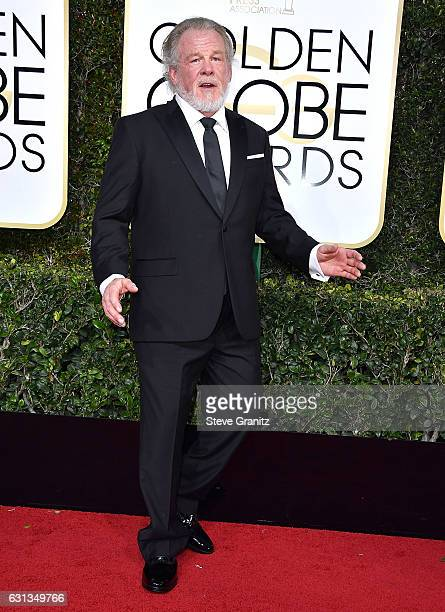 Nick Nolte arrives at the 74th Annual Golden Globe Awards at The Beverly Hilton Hotel on January 8 2017 in Beverly Hills California