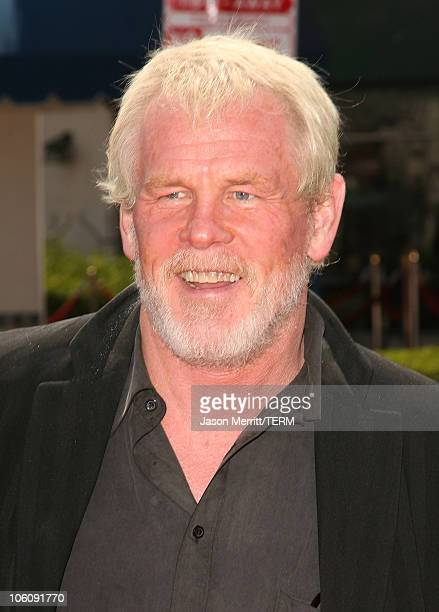Nick Nolte during Dreamworks' Over The Hedge Los Angeles Premiere Arrivals at Mann Village Theatre in Westwood California United States