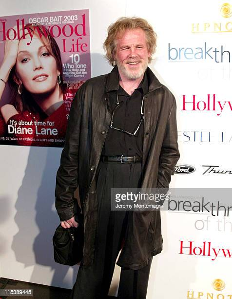 Nick Nolte during Movieline's Hollywood Life's 3rd Annual Breakthrough of the Year Award at The Highlands Club in Los Angeles California United States