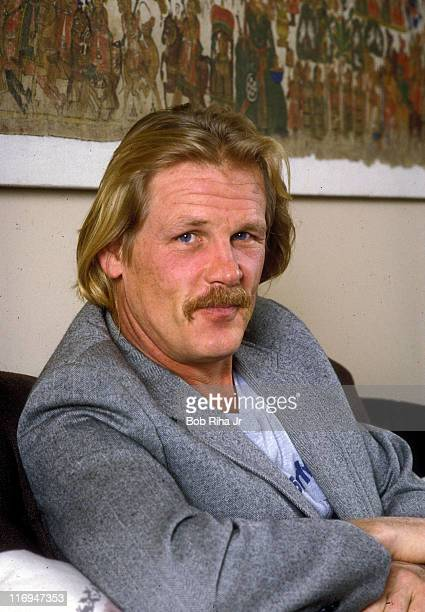 Nick Nolte during Nick Nolte Portrait Session Circa 1990 at Undisclosed Location in Los Angeles California United States