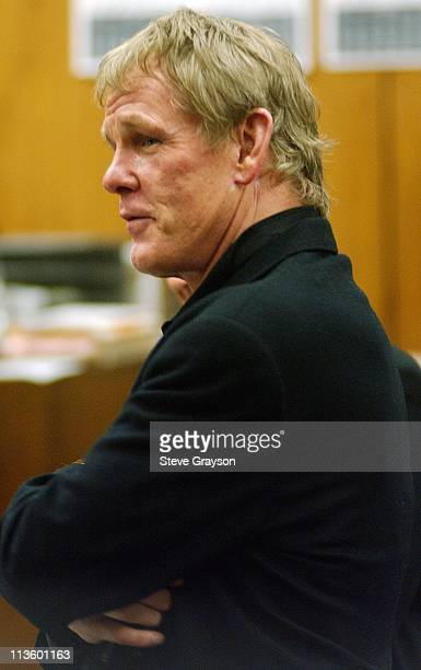 Nick Nolte during Nick Nolte Probation Progress Report Hearing July 18 2003 at Malibu Superior County Court in Malibu California United States