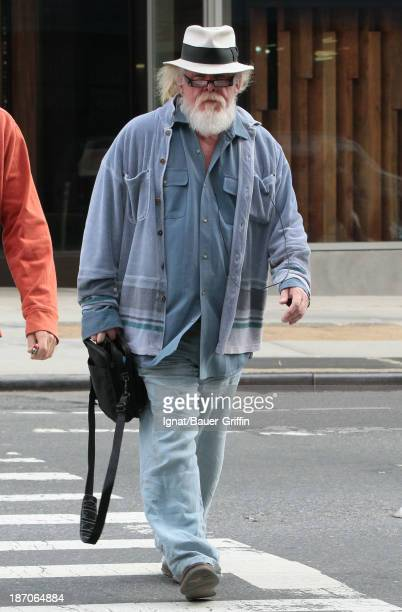 Nick Nolte is seen on November 5 2013 in New York City