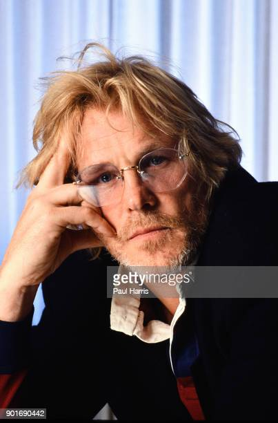 Nick Nolte photographed during a break during the filming of Farewell to The King August 1987 in Sarawak Borneo Malaysia