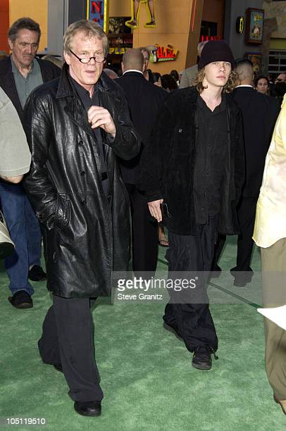 Nick Nolte Son Brawley Nolte during World Premiere Of The Hulk Hollywood at Universal Amphitheatre in Universal City California United States