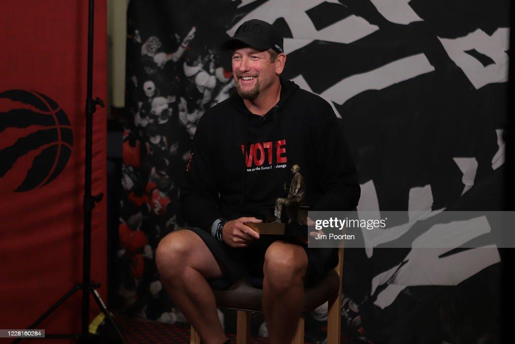 2020 NBA Rerstart - Coach of the Year Announcement : News Photo