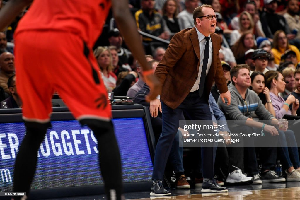 DENVER NUGGETS VS TORONTO RAPTORS, NBA REGULAR SEASON : ニュース写真
