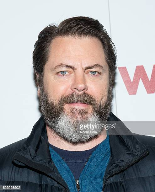 Nick Offerman attends a special screening of Why Him at iPic Theater on December 11 2016 in New York City