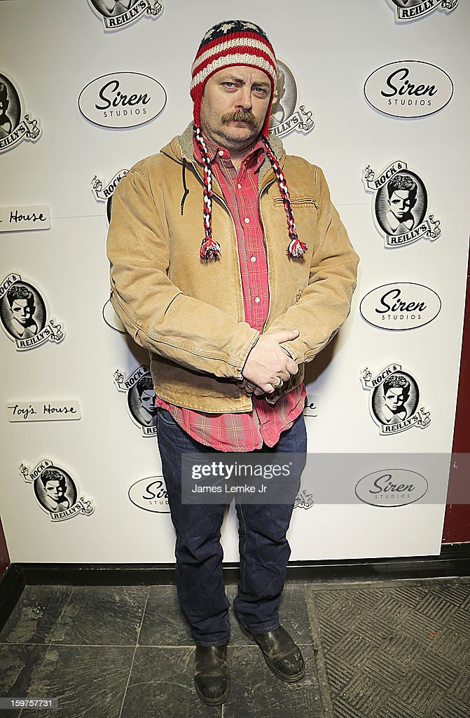 Nick Offerman attends 'Toy's House' Official Cast After-Party Sponsored By Siren on January 19, 2013 in Park City, Utah.