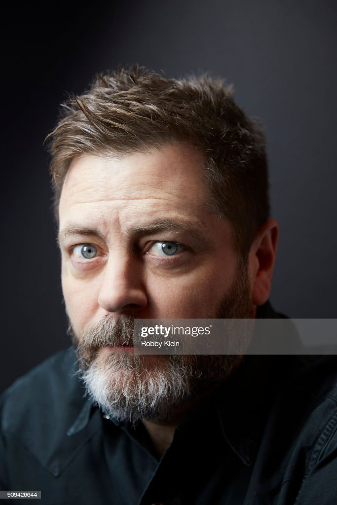 Nick Offerman from the film 'White Fang' poses for a portrait at the YouTube x Getty Images Portrait Studio at 2018 Sundance Film Festival on January 21, 2018 in Park City, Utah.