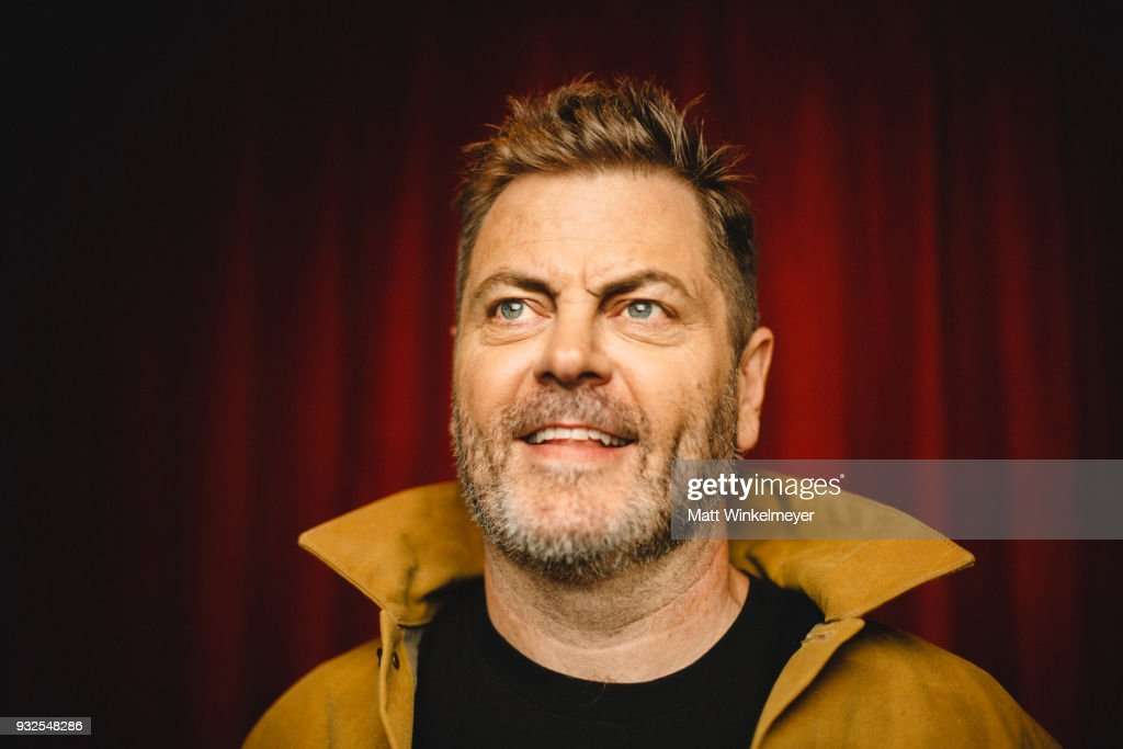 Nick Offerman poses for a portrait at the 'Hearts Beat Loud' Premiere 2018 SXSW Conference and Festivals at Paramount Theatre on March 14, 2018 in Austin, Texas.