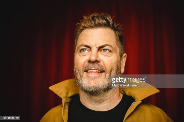 Nick Offerman poses for a portrait at the Hearts Beat Loud Premiere 2018 SXSW Conference and Festivals at Paramount Theatre on March 14 2018 in...
