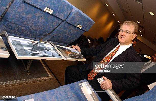 Nick Pajic President and CEO of SkyMedia in conjunction with America West Airlines announced the launch of tray table advertisements a new and...