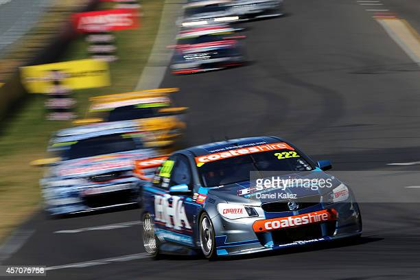 Nick Percat drives the Walkinshaw Racing Holden during the Bathurst 1000 which is round 11 and race 30 of the V8 Supercars Championship Series at...