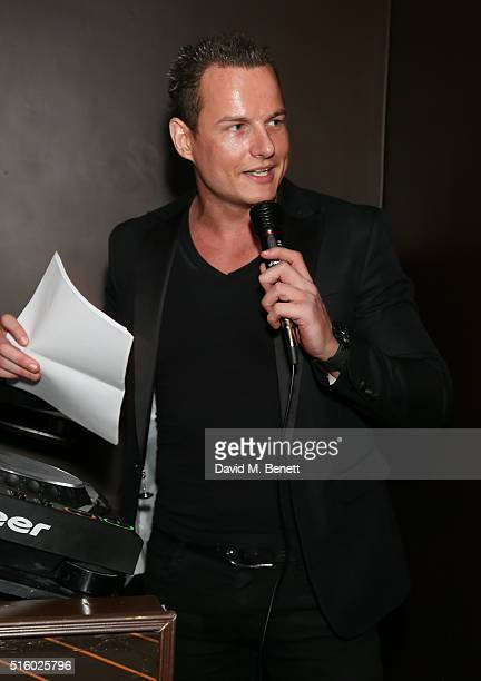 Nick Perks attends the Everest Spring Climb Fundraiser hosted by Noelle Reno and Nick Perks at Beyond Lounge on March 16 2016 in London England