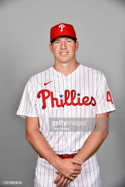 Nick Pivetta of the Philadelphia Phillies poses during Photo Day on Wednesday, February 19, 2020 at Spectrum Field in Clearwater, Florida.