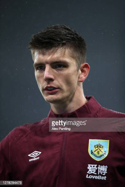 Nick Pope of Burnley looks on during the warm up prior to the Premier League match between Newcastle United and Burnley at St James Park on October...