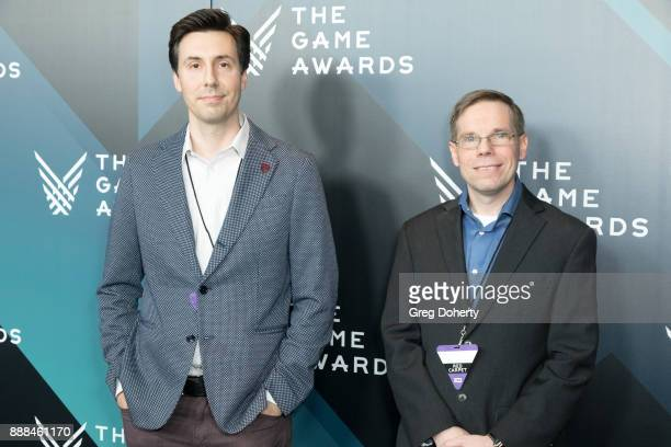 Nick Popvich and Mike Thomas attend The Game Awards 2017 at Microsoft Theater on December 7 2017 in Los Angeles California