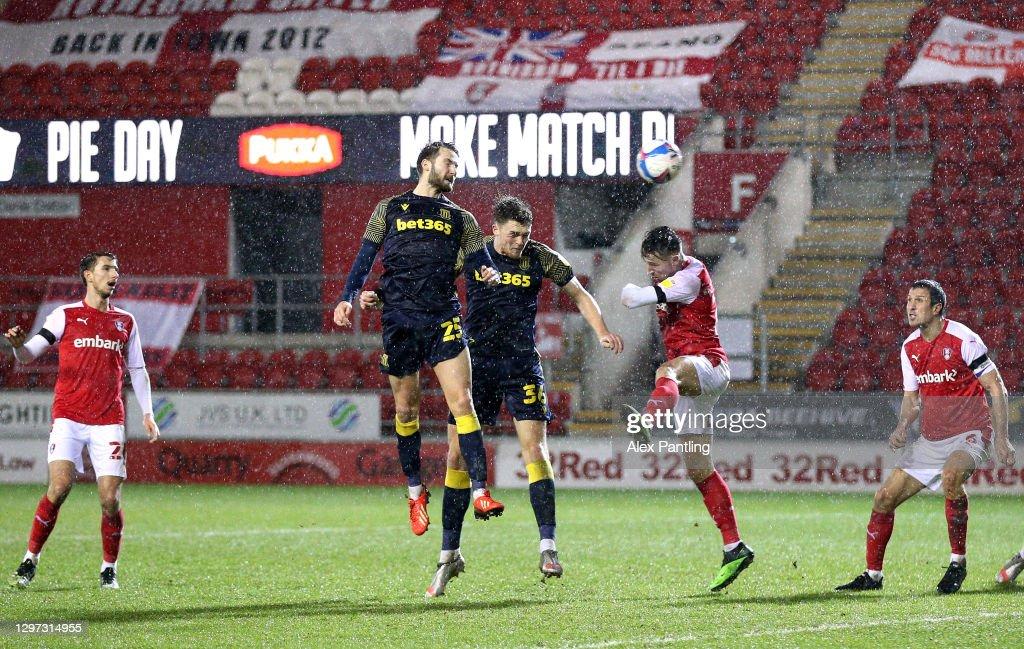 Rotherham United v Stoke City - Sky Bet Championship : News Photo