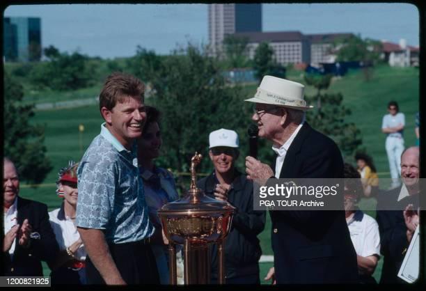 Nick Price, Byron Nelson PGA TOUR Photo by Bob Strauss/PGA TOUR Archive via Getty Images
