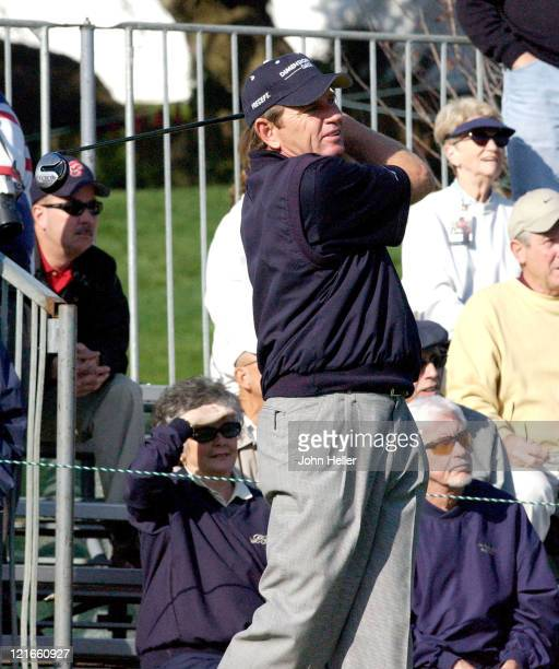 Nick Price during 2003 Target World Challenge Presented by Williams - Pro Am at Sherwood Country Club in Thousand Oaks, California, United States.