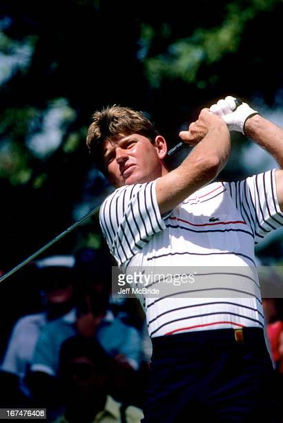 Nick Price during the 67th PGA Championship held at Cherry Hills Country Club in Englewood Colorado August 811 1985