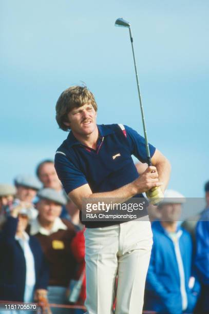 Nick Price of Zimbabwe in action during the 110th Open Championship held at Royal St George's Golf Club from July 16-19,1981 in Sandwich, Kent,...