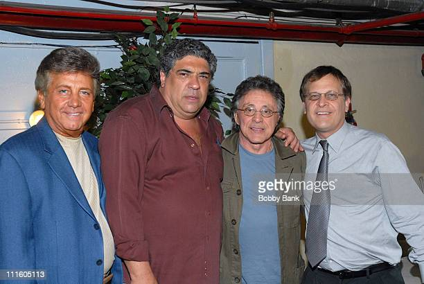 Nick Puccio, Vincent Pastore, Frankie Valli and Stanley Andrucyk *EXCLUSIVE COVERAGE*