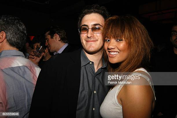 Nick Raynes and Vanessa Bronfman attend LISA EDELSTEIN and ROSARIO DAWSON Birthday Party at The Plumm on May 18 2006 in New York City