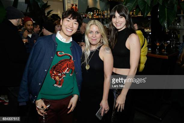 Nick Reisch Jenn Zinn and Sami Aviles attend The Industry MGMT and The Industry Model MGMT Launch hosted by the Art Fashion Group and Pier59 Studios...
