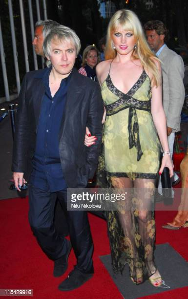 Nick Rhodes and Meredith Ostrom during La Dolce Vita Grand Prix Ball May 27 2006 at Les Salles Des Etoiles in Monaco