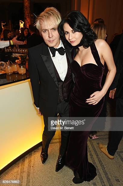 Nick Rhodes and Nefer Suvio attend as PORTER hosts a special performance of Letters Live in celebration of their Incredible Women of 2016 at The VA...
