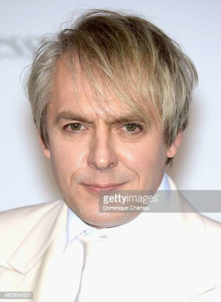 Nick Rhodes attend amfAR's 21st Cinema Against AIDS Gala Presented By WORLDVIEW BOLD FILMS And BVLGARI at Hotel du CapEdenRoc on May 22 2014 in Cap...