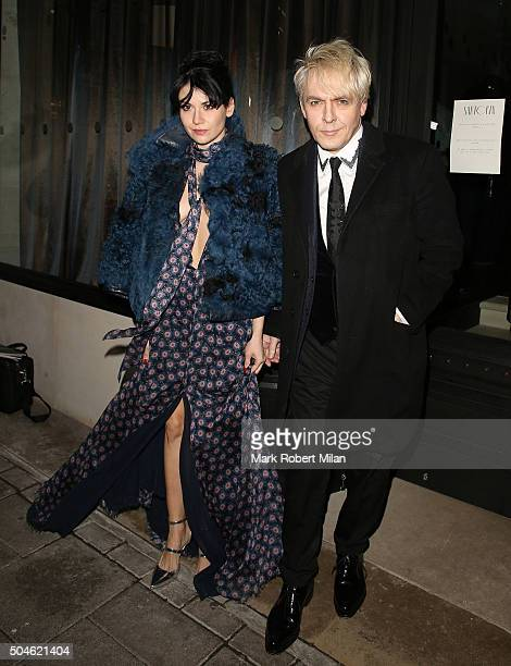 Nick Rhodes attending the GQ Closing Dinner London Collections Men Autumn Winter 2016 on January 11 2016 in London England