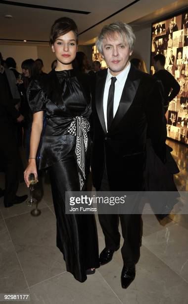 Nick Rhodes attends the London Evening Standard Influentials Party at Burberry on November 10 2009 in London England