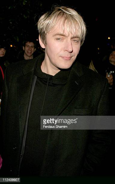 Nick Rhodes during 'Big Fish' Premiere After Party Outside Arrivals at St Martins Lane Hotel in London Great Britain