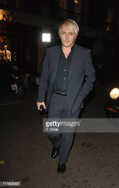 Nick Rhodes during Victoria Silvstedt Birthday Party September 20 2006 at Cipriani Restaurant in London Great Britain