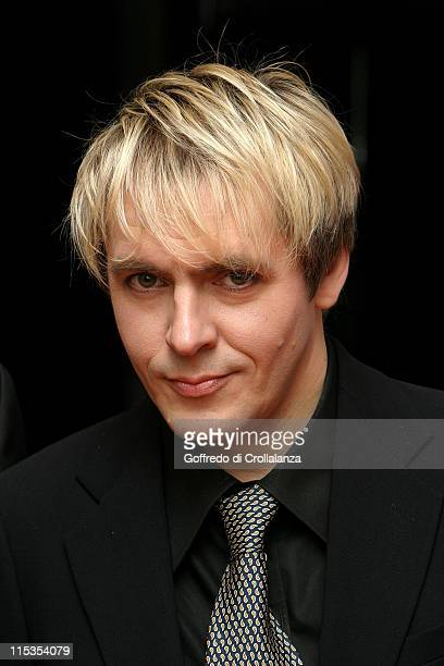 Nick Rhodes from 'Duran Duran' during Icons The Jack Cardiff Collection at Royal College of Art in London Great Britain