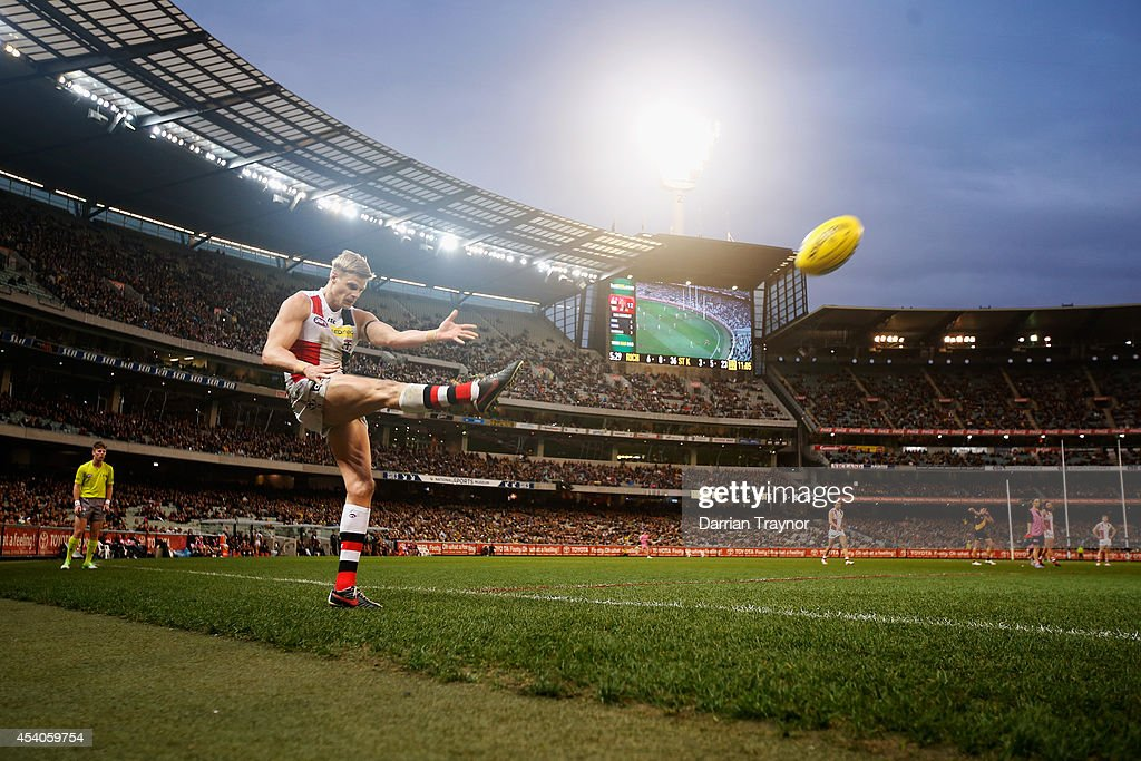 AFL Rd 22 - Richmond v St Kilda