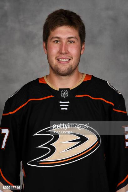 Nick Ritchie of the Anaheim Ducks poses for his official headshot for the 20172018 season on September 7 2017 at Honda Center in Anaheim California