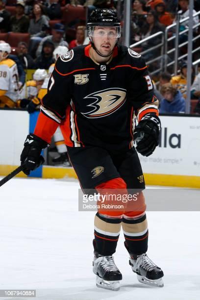 Nick Ritchie of the Anaheim Ducks skates during the game against the Nashville Predators on November 12 2018 at Honda Center in Anaheim California
