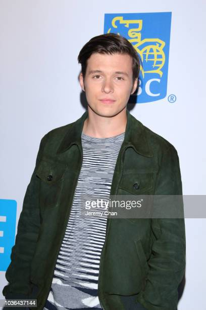 Nick Robinson arrives to WE Day Toronto and the WE Carpet at Scotiabank Arena on September 20 2018 in Toronto Canada