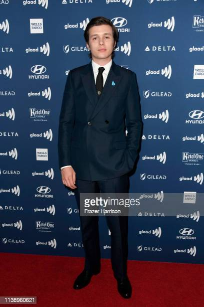 Nick Robinson attends the 30th Annual GLAAD Media Awards at The Beverly Hilton Hotel on March 28 2019 in Beverly Hills California