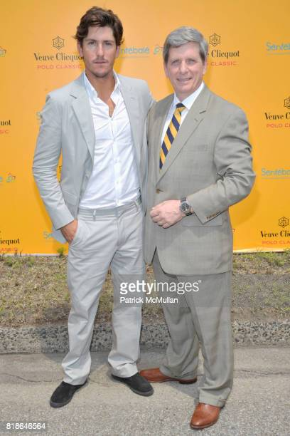 Nick Roldan and Larry Boland attend 2010 VEUVE CLICQUOT Polo Classic at Governors Island on June 27 2010 in New York City