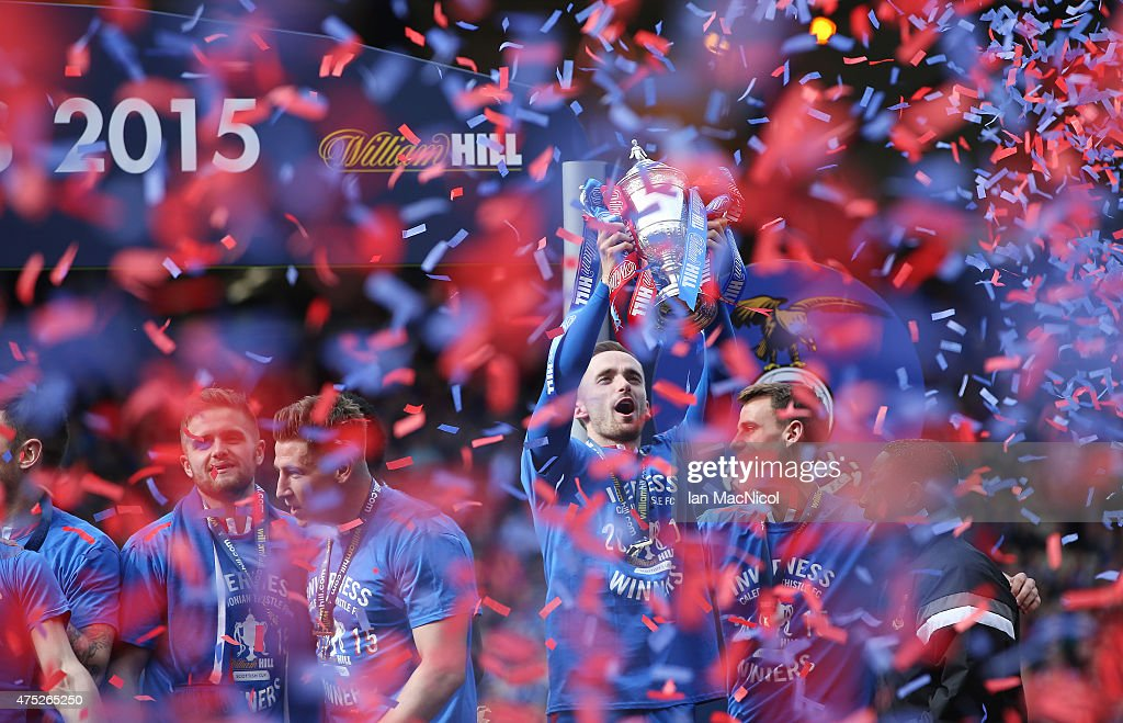 Falkirk v Inverness Caledonian Thistle - The William Hill Scottish Cup Final : News Photo