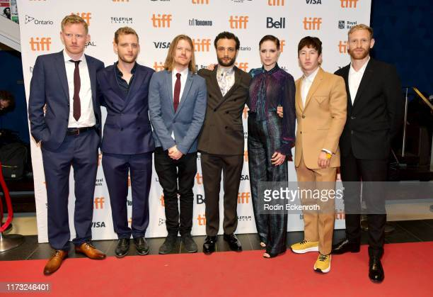 Nick Rowland Cosmo Jarvis Niamh Algar Barry Keoghan Daniel Emmerson and guests attend the Calm With Horses photo call during the 2019 Toronto...